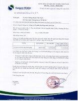 Báo cáo tài chính công ty mẹ quý 4 năm 2015 - Công ty cổ phần Hạ tầng nước Sài Gòn