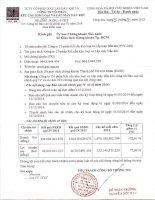 Báo cáo tài chính quý 4 năm 2014 - Công ty Cổ phần Kết cấu Kim loại và Lắp máy Dầu khí