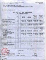 Báo cáo tài chính công ty mẹ quý 3 năm 2015 - Công ty cổ phần Sách Giáo dục tại T.P Hồ Chí Minh