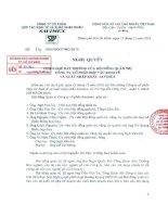 Nghị quyết Hội đồng Quản trị ngày 15-12-2010 - Công ty Cổ phần Hợp tác kinh tế và Xuất nhập khẩu SAVIMEX