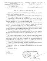 Báo cáo tài chính công ty mẹ quý 2 năm 2012 - Tổng Công ty cổ phần Xây lắp Dầu khí Việt Nam