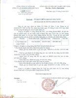 Báo cáo tài chính quý 2 năm 2014 (đã soát xét) - Công ty Cổ phần Xi măng Sông Đà Yaly