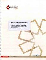 Báo cáo tài chính hợp nhất năm 2015 (đã kiểm toán) - Công ty Cổ phần Đại lý Vận tải SAFI