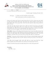Báo cáo tài chính hợp nhất quý 2 năm 2014 - Công ty Cổ phần Xây dựng hạ tầng Sông Đà