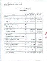 Báo cáo tài chính công ty mẹ quý 1 năm 2012 - Công ty cổ phần Vận chuyển Sài Gòn Tourist