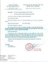 Báo cáo tài chính quý 1 năm 2016 - Công ty cổ phần Kỹ thuật Điện Sông Đà