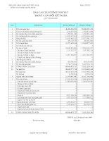 Báo cáo tài chính quý 1 năm 2009 - Công ty cổ phần Sách Giáo dục tại T.P Hồ Chí Minh