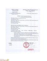 Báo cáo tài chính công ty mẹ quý 4 năm 2015 - Công ty Cổ phần Sơn Hà Sài Gòn