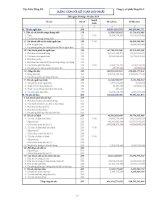 Báo cáo tài chính hợp nhất quý 3 năm 2010 - Công ty Cổ phần Sông Đà 3