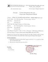 Báo cáo tài chính năm 2012 (đã kiểm toán) - Công ty Cổ phần Mía đường Nhiệt điện Gia Lai