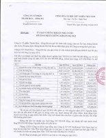 Báo cáo tài chính quý 3 năm 2014 - Công ty cổ phần Thanh Hoa - Sông Đà