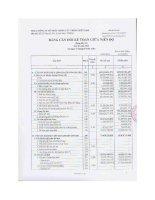 Báo cáo tài chính công ty mẹ quý 1 năm 2013 - Công ty Cổ phần Giống cây trồng Miền Nam