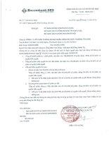 Nghị quyết Đại hội cổ đông - Công ty Cổ phần Chứng khoán Ngân hàng Sài Gòn Thương Tín