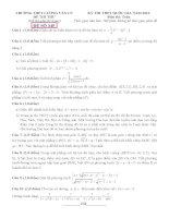 đề thi thử thpt quốc gia môn toán DE345 THPT lương văn cù, an giang