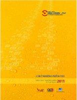 Báo cáo thường niên năm 2011 - Công ty Cổ phần Vận tải và Giao nhận bia Sài Gòn