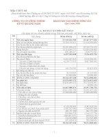 Báo cáo tài chính quý 2 năm 2009 - Công ty Cổ phần Công trình Giao thông Vận tải Quảng Nam