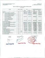 Báo cáo KQKD công ty mẹ quý 1 năm 2011 - Công ty Cổ phần Chứng khoán Ngân hàng Sài Gòn Thương Tín