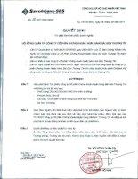Nghị quyết Hội đồng Quản trị ngày 25-2-2011 - Công ty Cổ phần Chứng khoán Ngân hàng Sài Gòn Thương Tín