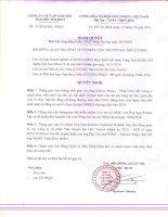 Nghị quyết Hội đồng Quản trị - Công ty cổ phần Vận chuyển Sài Gòn Tourist