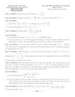 đề thi thử thpt quốc gia môn toán DE323 THPT giai xuân, cần thơ
