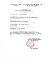 Bản điều lệ - Công ty Cổ phần Tập đoàn Thiên Long