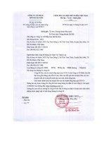 Báo cáo tài chính công ty mẹ quý 2 năm 2015 - Công ty Cổ phần Sơn Hà Sài Gòn