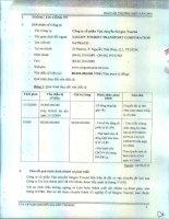 Báo cáo thường niên năm 2014 - Công ty cổ phần Vận chuyển Sài Gòn Tourist
