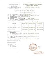 Báo cáo tài chính quý 3 năm 2013 - Công ty Cổ phần Sông Đà 12
