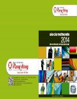 Báo cáo thường niên năm 2014 - Công ty Cổ phần Nhựa Rạng Đông