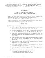 Nghị quyết Đại hội cổ đông thường niên năm 2011 - Tổng công ty Cổ phần Vận tải Dầu khí