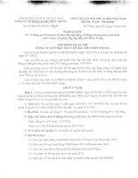 Nghị quyết Hội đồng Quản trị - Công ty Cổ phần Xây lắp Dầu khí Miền Trung