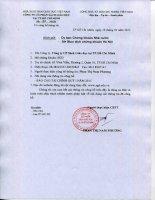 Báo cáo tài chính quý 1 năm 2015 - Công ty cổ phần Sách Giáo dục tại T.P Hồ Chí Minh