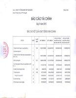 Báo cáo tài chính công ty mẹ quý 2 năm 2012 - Công ty cổ phần Gang thép Thái Nguyên