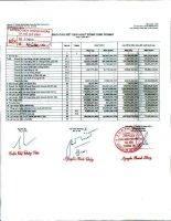Báo cáo tài chính công ty mẹ quý 3 năm 2011 - Công ty Cổ phần Chứng khoán Ngân hàng Sài Gòn Thương Tín