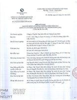 Nghị quyết Đại hội cổ đông thường niên - Công ty Cổ phần Tập đoàn Đầu tư Thăng Long