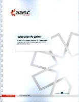 Báo cáo tài chính năm 2014 (đã kiểm toán) - Công ty cổ phần Than Hà Tu - Vinacomin