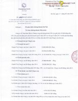 Báo cáo tài chính công ty mẹ quý 2 năm 2014 - Công ty Cổ phần Tập đoàn Đầu tư Thăng Long