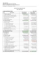 Báo cáo tài chính quý 4 năm 2009 - Công ty Cổ phần Sách và Thiết bị trường học Tp. Hồ Chí Minh