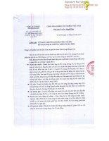 Báo cáo tài chính hợp nhất quý 4 năm 2014 - Công ty Cổ phần Sơn Hà Sài Gòn