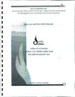 Báo cáo thường niên năm 2010 - Công ty Cổ phần Giống cây trồng Miền Nam