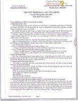 Báo cáo tài chính hợp nhất quý 3 năm 2012 - Công ty Cổ phần Sông Đà 6