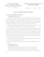 Báo cáo thường niên năm 2011 - Công ty cổ phần Than Hà Tu - Vinacomin
