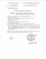 Báo cáo tài chính năm 2015 (đã kiểm toán) - Công ty Cổ phần Xuất nhập khẩu Thủy sản Sài Gòn