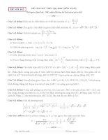 đề thi thử thpt quốc gia môn toán DE342 THPT lê minh xuân, TPHCM (l2)