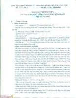 Báo cáo thường niên năm 2015 - Công ty cổ phần Sông Đà 27
