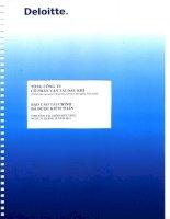 Báo cáo tài chính công ty mẹ năm 2011 (đã kiểm toán) - Tổng công ty Cổ phần Vận tải Dầu khí