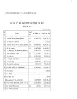 Báo cáo KQKD hợp nhất quý 1 năm 2011 - Công ty Cổ phần Đầu tư và Phát triển Sacom
