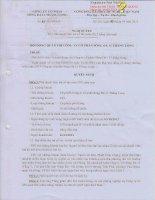 Nghị quyết Hội đồng Quản trị - Công ty Cổ phần Sông Đà 11 Thăng Long