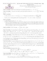 đề thi thử thpt quốc gia môn toán DE330 THPT quảng xương 1, thanh hóa (l4)