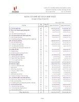 Báo cáo tài chính hợp nhất quý 1 năm 2011 - Công ty cổ phần Sông Đà - Thăng Long